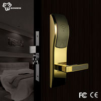High quality security and safe keyless glass door lock