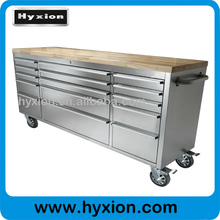 Heavy duty 100lbs 4 caster industrial metal cabinet drawers