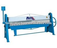 WH06-2x1550 manual folder manufacture sheet metal manual folding machine