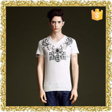 hot sell 100% cotton viscose striper t shirt