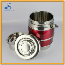 stainless steel vacuum pump food container for food warm