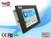8.4 inch 6 COM ports industrial touch panel pc ip65