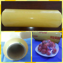top quality hand plastic film/cling food wrap/stretch food packing OEM
