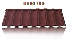 Environment Friendly Flat Stone Coated Roof Tiles, Bond Stone Coated Metal Roofing/ Roof Tiles