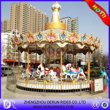 Amusement Park 16 Seats mechanical horse Rides for Sale
