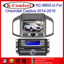 K-Comfort Factory supply touch screen car dvd for chevrolet captiva with GPS + SWC + Radio + RDS BT+ SD + USB CD/DVD IPOD Aux-in