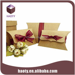 Special paper box with logo for extension