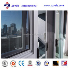 Black Poly Stainless Steel Security Window Screen with Perfect flat surface
