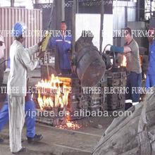 Electric Furnace Smelt Metal Melting Furnace Metal Smelter 2500 kg Capacity