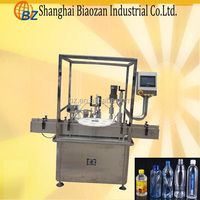 Bottles Packaging Type and Automatic Automatic Grade vegetable oil filling machine