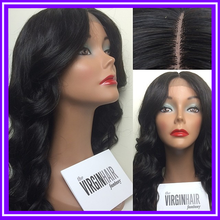 20 inch highlight STOCK--100% Indian remy hair silk top full lace wig