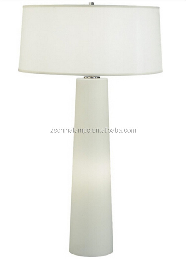 tall white marble table lamp with cylinder shade best present for. Black Bedroom Furniture Sets. Home Design Ideas