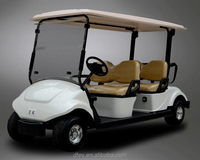 Street legal 4 people electric golf buggies with CE certification