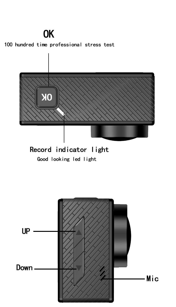 Hdking Q5h Factory Price Wifi Action Camera 4k Ultra Hd Sport Sportcam 16 Mp 1080p 15 Alibaba Manufacturer