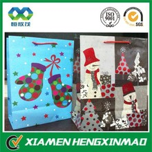 Outdoor christmas decoration items packaging paper bag for outdoor christmas decoration