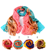High Quality Elegant Winter Ladies Scarves Thai Silk Tudung China