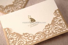 popular hot sale sweet wedding cards for marry