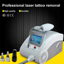 High power! Good feedback q switch nd yag laser removal system laser machine