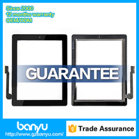 Good quality black color repair parts lcd screen for ipad 3 touch digitizer