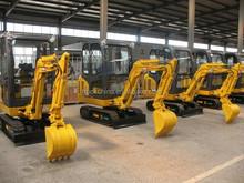Carter 1.8ton hydraulic crawler mini excavator (EEC, E-mark, CE approved)