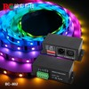 DC5V-24V 512 channel TM1809 signal dmx decoder ws2811 led light dmx controller
