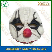 X-MERRY Half Face Masks Funny Halloween Cosplay Costume Mask Clown ,Red Devil ,wizard,zombie Fantacy Party Dresses