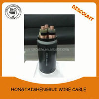 Made in China 0.6/ 1kv 4 core aluminium PVC Insulated electrical power cable 4mm