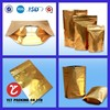 food packaging materials custom plastic resealable bags with zipper for coffee beans