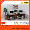 Top selling 2015 modern wooden executive desk office table design/computer desk