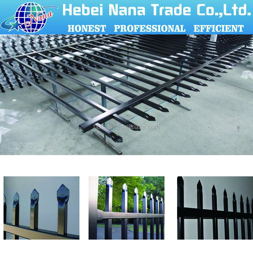 China manuacture of metal fence panels iron