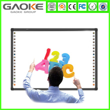 Hot sale IR interactive whiteboard digital pen all in one computer with aluminium frame for education and business presentation