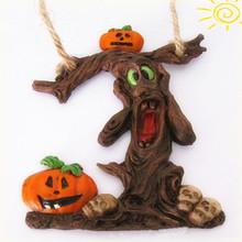Tree Shaped Pumpkin Halloween Resin Gift
