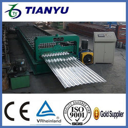 corrugated roof steel profile roll forming machine  Metal Color Steel Step Roof Tile