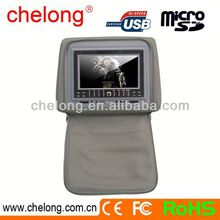 New arrived 7inch new panel car flip down lcd monitors