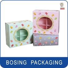 Moda caja de diseño para cosméticos, Elegante embalaje, Hermosa caja de papel