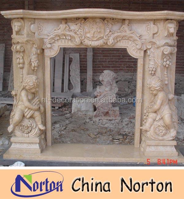 Decoración llama chimenea eléctrica chimenea indoor uso marmol ...