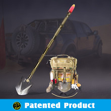 Outdoor Survival Tactical Gear/Multifunction Shovel with Tactical knife and power Flashlight