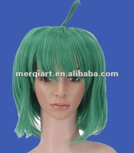 Hot green japanese party wig