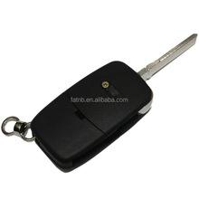 Flip car key blank for Audi remote control 4D0837231M for audi car key shell