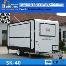 The best hot sale food vending truck/mobile catering trailer van with promotion price