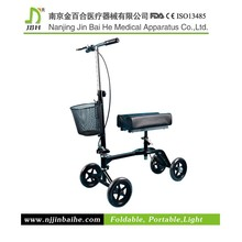 Indoor and Outdoor Long Life Knee Walker Scooter with CE,FDA For the Disabled