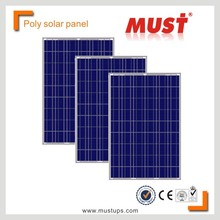 MUST POWER high efficiency 100W 18V poly solar panel