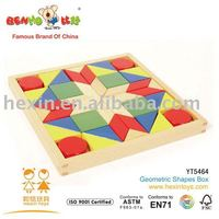 Kids Toy Geometric Shapes Box cheap wooden toy