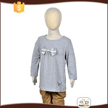 Professional design wholesale breathable children t shirts girl latest design top