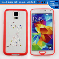 Protective Case For Galaxy S4 i9500, For Samsung S4 TPU + PC Case