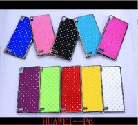 New Luxury Bling Diamond Crystal Star Hard Case Cover For Huawei Ascend P6