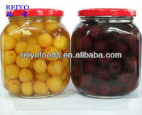HACCP-- Canned black cherries