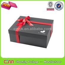 La costumbre de papel caja de zapatos, de cartón caja de zapatos al por mayor