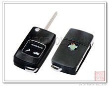 Flip remote key case 2B for Chevrolet remote control shell 2 button (AS014006)