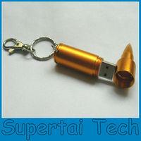 Hot selling fashion design 4GB Metal Bullet USB Flash Drive